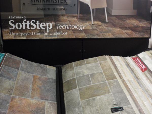 Soft step stainmaster vinyl booska 39 s flooring for Vinyl flooring enfield